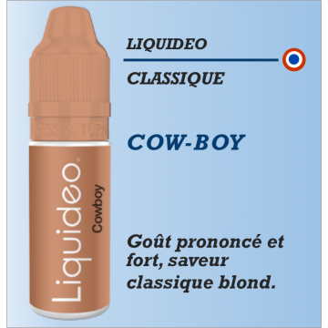 Liquideo - COW-BOY - 10ml