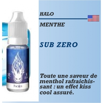 Halo - SUB ZERO - 10ml