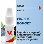 Ilixir - VEGETOL CLOUD FRUITS ROUGES - 10ml