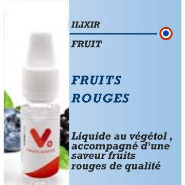 Ilixir - VEGETOL CLOUD FRUITS ROUGES - 10ml