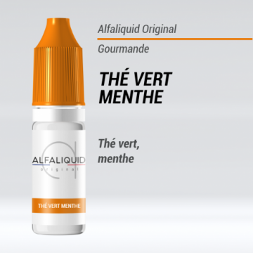 Alfaliquid - THE VERT MENTHE - 10ml