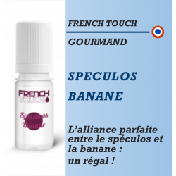 French Touch - SPECULOS BANANE - 10ml