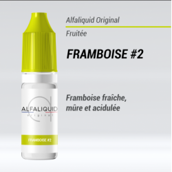 Alfaliquid - FRAMBOISE2 - 10ml