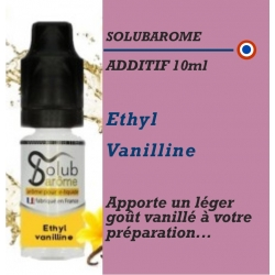 SOLUBAROME - ADDITIF ETHYL VANILLINE - 10 ml