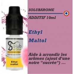 SOLUBAROME - ADDITIF ETHYL MALTOL - 10 ml