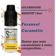SOLUBAROME - ADDITIF FURANEOL CARAMELIC - 10 ml