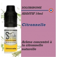 SOLUBAROME - ADDITIF CITRONNELLE- 10 ml