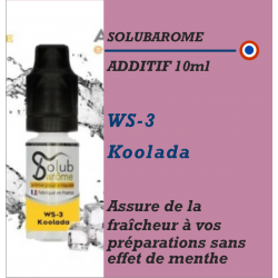 SOLUBAROME - ADDITIF WS-3 KOOLADA - 10 ml