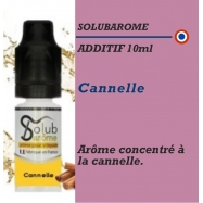 SOLUBAROME - ADDITIF CANNELLE- 10 ml