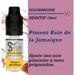 SOLUBAROME - ADDITIF PIMENT BAIE de JAMAIQUE - 10 ml