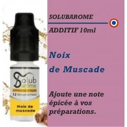 SOLUBAROME - ADDITIF NOIX de MUSCADE - 10 ml
