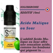 SOLUBAROME - ADDITIF ACIDE MALIQUE - 10 ml