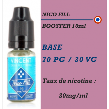Nico Fill - BOOSTER en 20mg/ml 70 PG 30 VG - 10ml