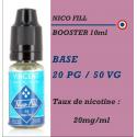 Nico Fill - BOOSTER en 20mg/ml 20 PG 80 VG - 10ml