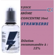 TJUICE - ARÔME STRAWBERRI - 30 ml