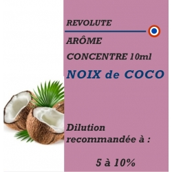 REVOLUTE - ARÔME NOIX de COCO - 10 ml