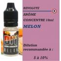 REVOLUTE - ARÔME MELON - 10 ml