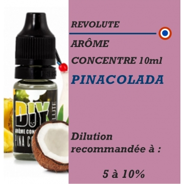 REVOLUTE - ARÔME PINACOLADA - 10 ml