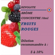 REVOLUTE - FRUITS ROUGES - 10 ml