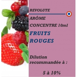 REVOLUTE - ARÔME FRUITS ROUGES - 10 ml