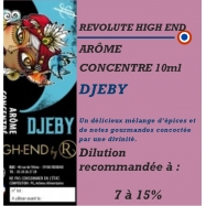REVOLUTE HIGHT END - DJEBY - 10 ml
