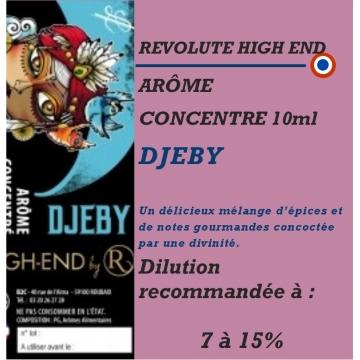 REVOLUTE HIGH END - ARÔME DJEBY - 10 ml
