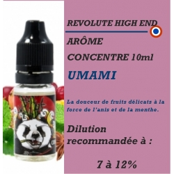REVOLUTE HIGH END - ARÔME UMAMI - 10 ml