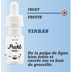Frukt - VINBAR - 10ml - DDM