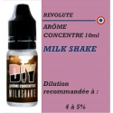 REVOLUTE - ARÔME MILK SHAKE - 10 ml