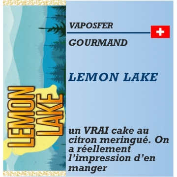 Vaposfer - LEMON LAKE - 10ml