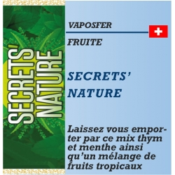 Vaposfer - SECRETS' NATURE - 10ml