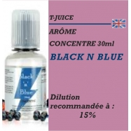 TJUICE - ARÔME BLACK n BLUE - 30 ml