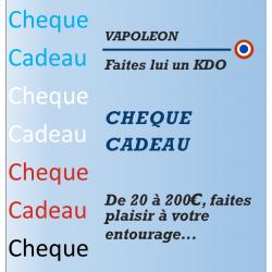 Chèque Cadeau Vapoleon