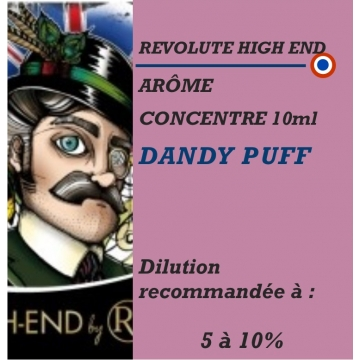 REVOLUTE - ARÔME DANDY PUFF - 10 ml