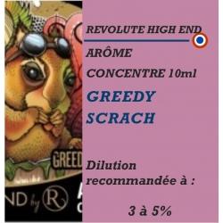 REVOLUTE - ARÔME GREEDY SCRACH - 10 ml
