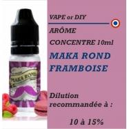 VAPE OR DIY - ARÔME MAKA ROND FRAMBOISE - 10 ml