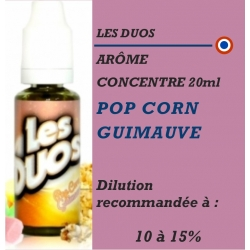 LES DUOS - POP CORN GUIMAUVE - 20 ml