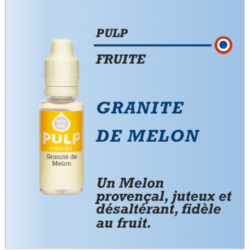 Pulp - GRANITE DE MELON - 10ml