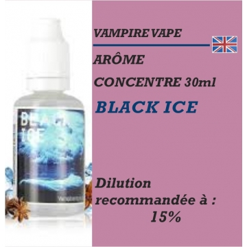 VAMPIRE VAPE - ARÔME BLACK ICE - 30 ml