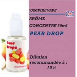 VAMPIRE VAPE - ARÔME PEAR DROP - 30 ml