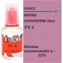 T-JUICE - ARÔME TY-4 - 30 ml