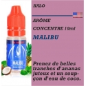 HALO - ARÔME MALIBU - 10 ml