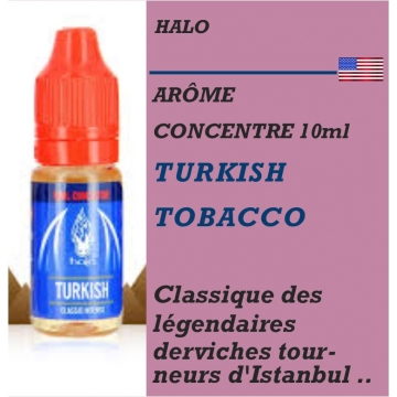 HALO - ARÔME TURKISH TOBACCO - 10 ml