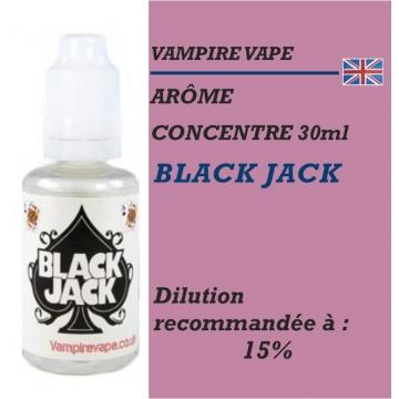 VAMPIRE VAPE - ARÔME BLACK JACK - 30 ml
