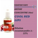 VAMPIRE VAPE - ARÔME COOL RED LIPS - 30 ml