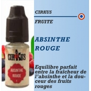 Cirkus - ABSINTHE ROUGE - 10ml