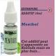 EXTRAPURE - ADDITIF MENTHOL - 10 ml