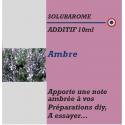 SOLUBAROME - ADDITIF AMBRE - 10 ml