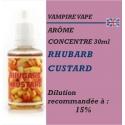 VAMPIRE VAPE - ARÔME RHUBARB CUSTARD - 30 ml