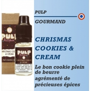 Pulp - CHRISTMAS COOKIES & CREAM - 10ml